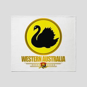 Western Australia Emblem Throw Blanket