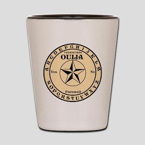 Ouija Round Shot Glass