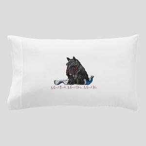 Scottish Terrier Book Pillow Case