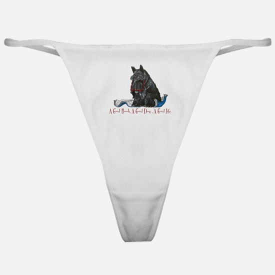 Scottish Terrier Book Classic Thong