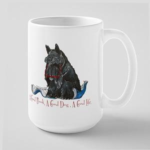Scottish Terrier Book Large Mug