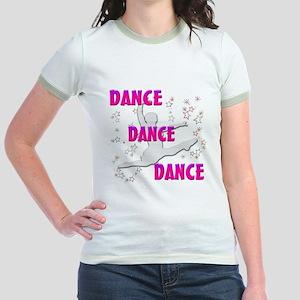 """""""DANCE, DANCE, DANCE"""" Jr. Ringer T-Shirt"""