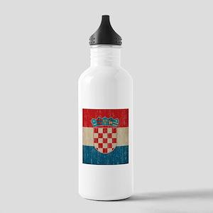 Vintage Croatia Stainless Water Bottle 1.0L