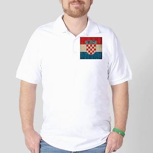 Vintage Croatia Golf Shirt