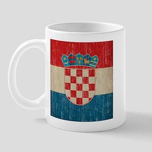 Vintage Croatia Mug