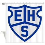 Old Ehs Shower Curtain