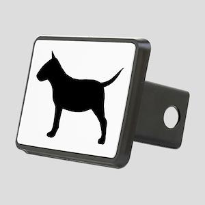 Mini Bull Terrier Rectangular Hitch Cover