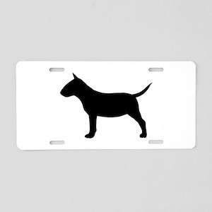 Mini Bull Terrier Aluminum License Plate