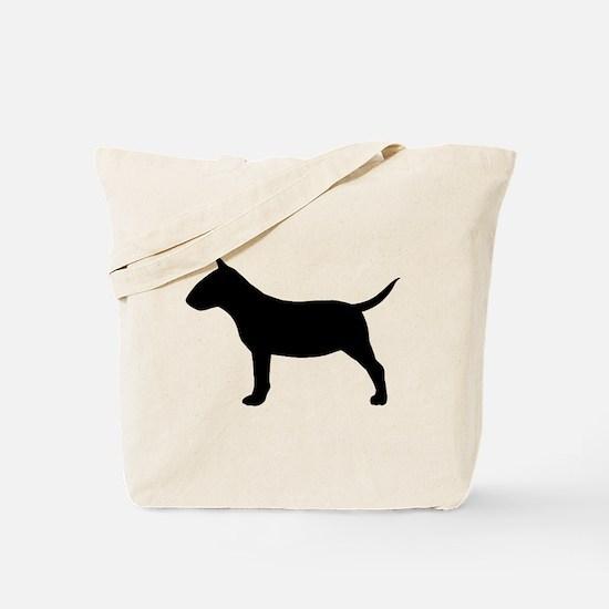 Mini Bull Terrier Tote Bag
