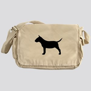 Mini Bull Terrier Messenger Bag