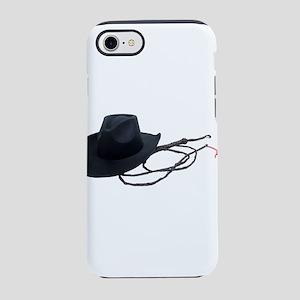 CowboyHatWhip090309 iPhone 7 Tough Case