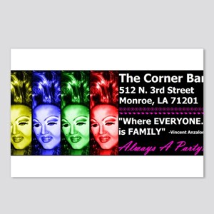 The Corner Bar Bumper Sticker Postcards (Package o