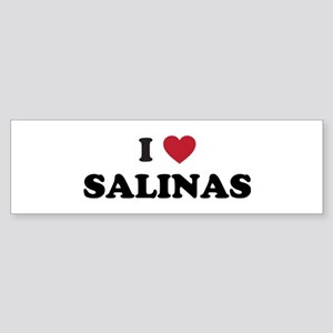 I Love Salinas California Sticker (Bumper)