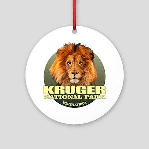 Kruger National Park Round Ornament