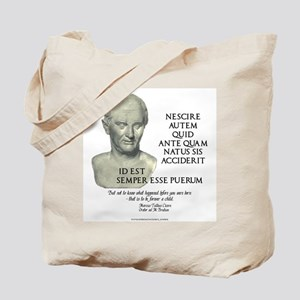 Forever a Child Tote Bag