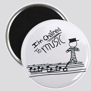 Chained to music Magnet