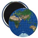 """World Map Sphere 3: 2.25"""" Magnet (100)"""
