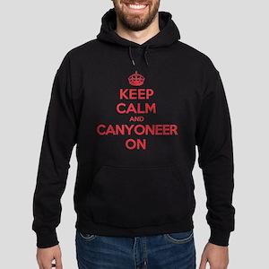 Keep Calm Canyoneer Hoodie (dark)