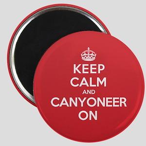 Keep Calm Canyoneer Magnet
