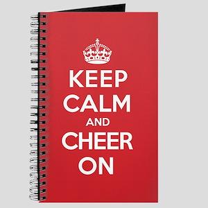 Keep Calm Cheer Journal