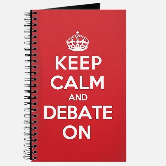 Keep Calm Debate Journal
