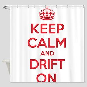 Keep Calm Drift Shower Curtain