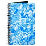 Blue Water texture Journal