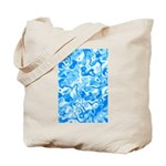 Blue Water texture Tote Bag