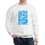 Blue Water texture Sweatshirt