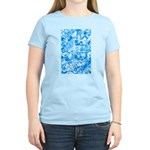 Blue Water texture Women's Light T-Shirt