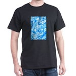 Blue Water texture Dark T-Shirt