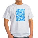 Blue Water texture Light T-Shirt