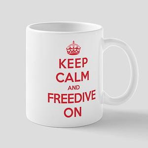 Keep Calm Freedive Mug