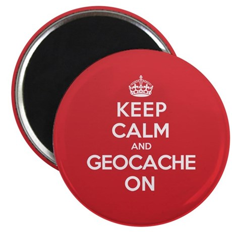 Keep Calm Geocache Magnet