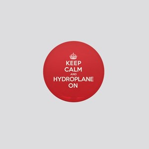 Keep Calm Hydroplane Mini Button