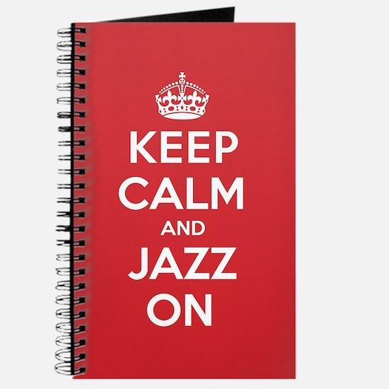 Keep Calm Jazz Journal