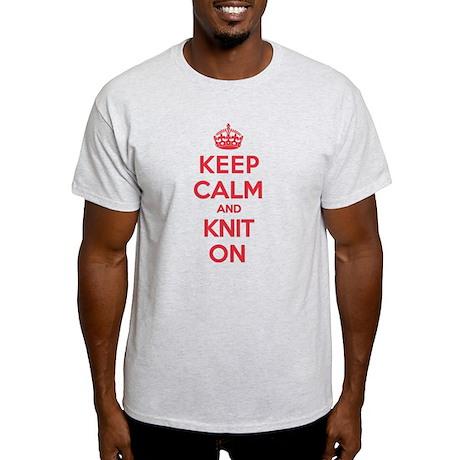 Keep Calm Knit Light T-Shirt