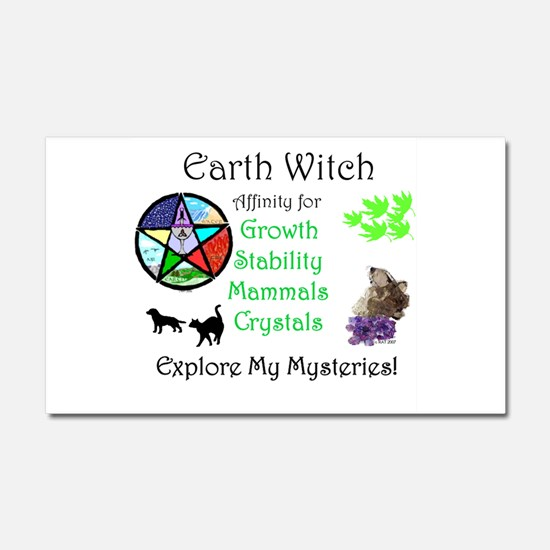 Earth Witch.jpg Car Magnet 20 x 12