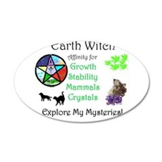 Earth Witch.jpg Wall Decal