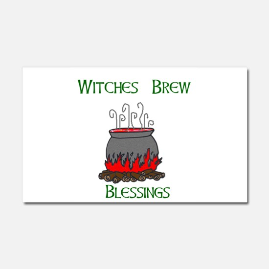 Witches Brew Blessings.jpg Car Magnet 20 x 12