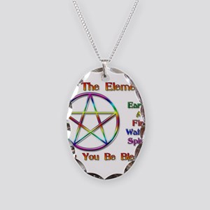 ElementBlessing Necklace Oval Charm