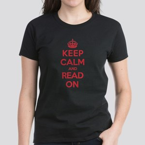 Keep Calm Read Women's Dark T-Shirt