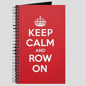 Keep Calm Row Journal