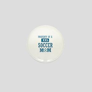 Cool Soccer Mom designs Mini Button