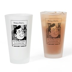 Potent Farts Dad Drinking Glass