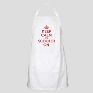 Keep Calm Scooter Apron