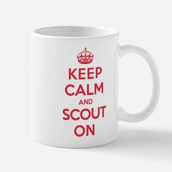 Keep Calm Scout Mug