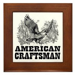 American Craftsman Framed Tile