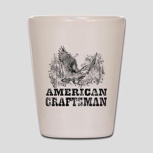 American Craftsman Distressed Shot Glass