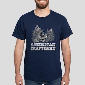 American Craftsman Distressed Dark T-Shirt